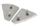 Ножи сменные для шнека Ergomax по льду (2 шт)